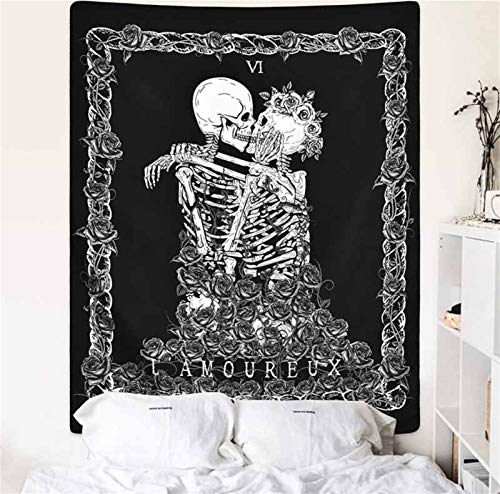 xinmeng Tapestry Wand Hängen Polyester Decke Home Schlafzimmer Kunst Teppich Wand Hanging Decor (Color : 9, Size : 95x73cm)