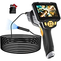 Lonove 16.5ft HD Borescope Inspection Camera with 4.3