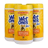WET ONES WIPES - Wet Ones hand wipes are now available for your favorite furry friends! The same team that brought you Wet Ones wipes for humans now has dog wipes for multi-purpose use Dog wipes from Wet Ones for Pets are formulated with top of the l...