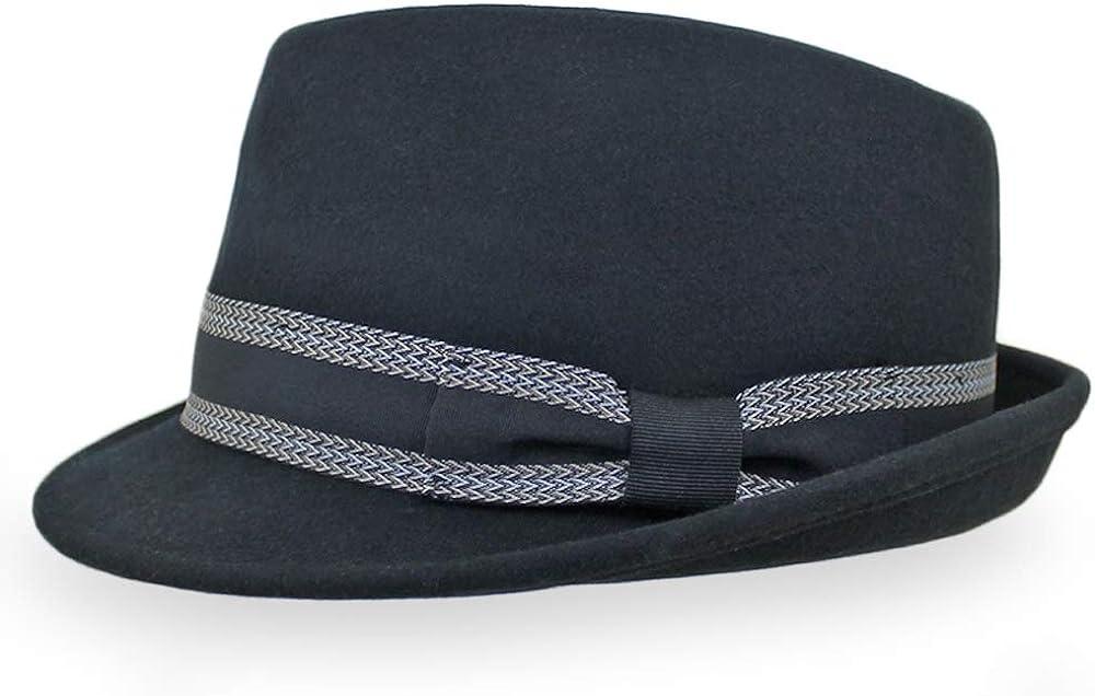 Belfry Sale Special Price Trilby Men Women Snap Brim Fedora OFFicial Style Dress Vintage Hat
