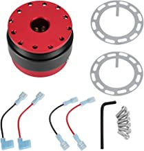 Kit de liberación rápida del volante con botón de bola adecuado para la mayoría de los volantes de los autos de carreras.