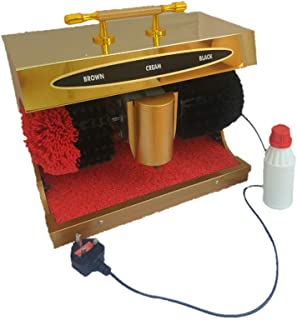 SHOE POLISH MACHINE جهاز تلميع وتنظيف الاحذية الذاتية لجميع الألوان الاحذية