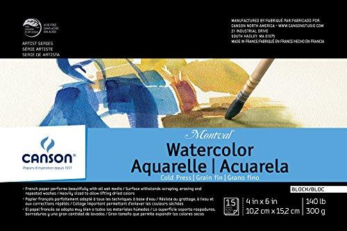 Canson Montval Watercolor Block