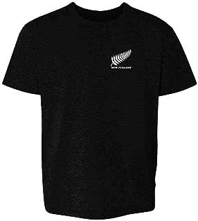 New Zealand Soccer Retro National Team Jersey Youth Kids Girl Boy T-Shirt