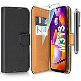 ivencase Funda para Samsung Galaxy M31s + Protector de Pantalla + Pen, Libro Caso Cubierta la Tapa magnética Protector...