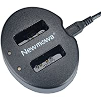 Newmowa USB Cargador Doble para Canon NB-13L Canon PowerShot G5X, G7X, G7 X Mark II, G9X, G9 X Mark II, G1 X Mark III, SX620 HS, SX720 HS, SX730 HS