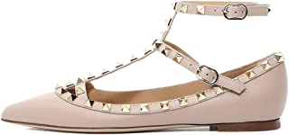 Best nude studded flats Reviews