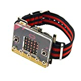 KEYESTUDIO for microbit Smart Watch Starter Kit for BBC Micro bit Coding DIY for Beginners Kids (Without Micro:bit Board)