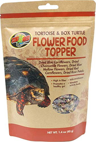 Zoo Med Flower Food Topper - Tortoise & Box Turtle - 1.4 oz