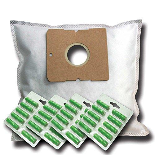 40 Staubsaugerbeutel + 40 Duftstäbe geeignet für Koenic KVC 3221 A