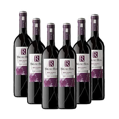 Vins&Co Barcelona Vino Rigau Ros Gran Reserva 2013 – D.O. Empordà – Pack De 6 Botellas – Crianza: 36 Meses – Selección Vins&Co - 750 ml