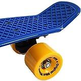 Atlantic Rift Retro Skateboard Pennyboard Retroboard | Oldschool Design | sicherer Halt | robuste Rollen | PU-Dämpfer -【Farb- und Modellauswahl】 - 2