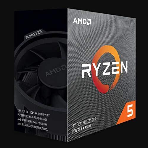 SUNHUALIN Procesador AMD Ryzen 5 3500X R5 3500X 3.6 GHz Procesador de CPU de Seis núcleos y Seis Hilos 7Nm 65W L3 = 32M B550