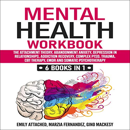 Mental Health Workbook: 6 Books in 1 cover art