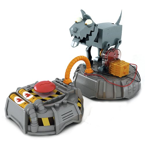 Phineas & Ferb pf0015Set–Electricity–Theft Dog (Swivel)