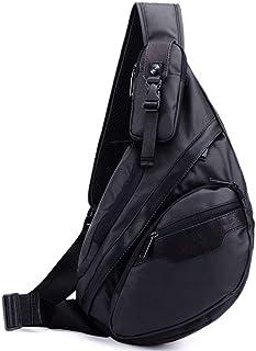 Sling Bag Backpack for Men Women Waterproof Oxford Crossbody Shoulder Casual Daypack chest bag
