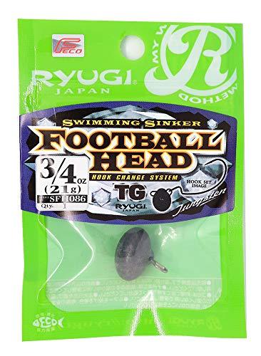 リューギ(RYUGI) フットボールヘッドTG 3/4oz 21g. SFH086