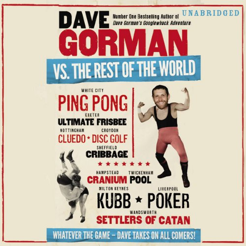 Dave Gorman Vs The Rest of the World audiobook cover art