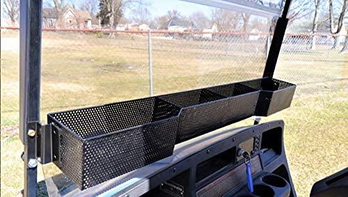Huskey Parts Company EZGO TXT Front Basket Dash Storage Tray Organizer (1994-2013) Gas Electric Golf Cart