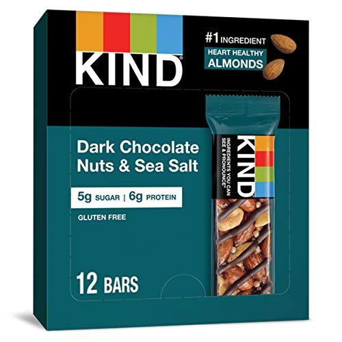 Kind Nut & Spice Bar Dark Chocolate Nuts & Sea Salt 40 g...