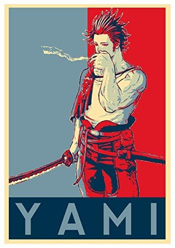 Instabuy Poster Black Clover Propaganda Yami - A3 (42x30 cm)