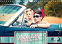 Rockabilly - Back to the 50s (Wandkalender 2022 DIN A4 quer): Rockabilly - Back to the 50s versetzt Sie in die 50er Jahre zurueck (Monatskalender, 14 Seiten )