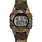 Timex x Mossy Oak Unisex Expedition Digital CAT 33mm Watch – Break-Up Country Camo Fabric Strap