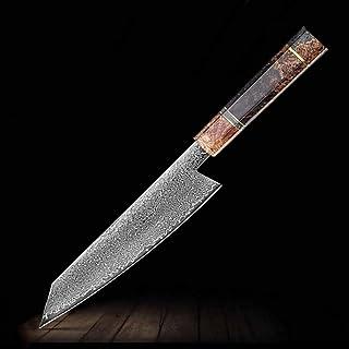 MISDD Main Couteau de Chef Japonais Damas Acier Kiritsuke 67 Couches VG10 Couteaux de Cuisine Outils de Cuisine Profession...