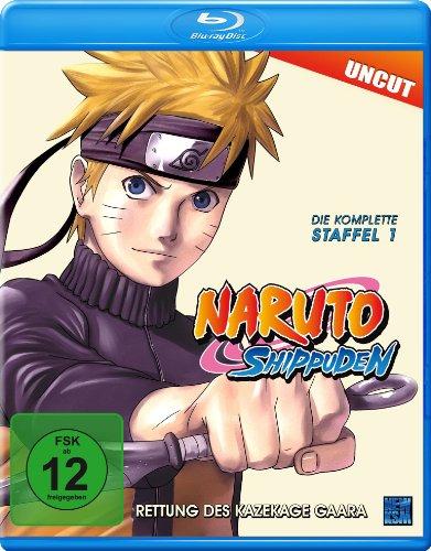 Naruto Shippuden - Staffel 1: Rettung des Kazekage Gaara (Uncut) [Blu-ray]