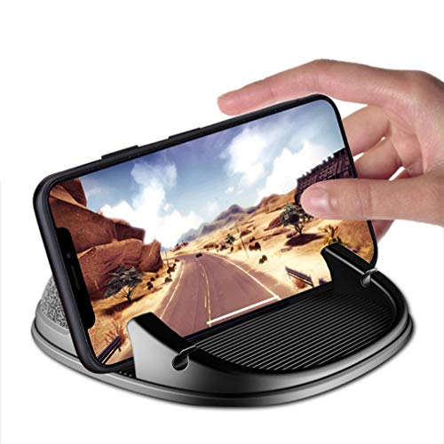 JH-Best Crafts Car Cell Phone Mount Holder | for iPhone 11/11 Pro/Xs/XS Max / 8/7 / 6, Google Pixel 3 XL, Samsung Galaxy, Moto, Huawei, Nokia, LG, Smartphones and Other Phones