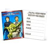 Star Wars Clone Wars Birthday Party Invitations NEW
