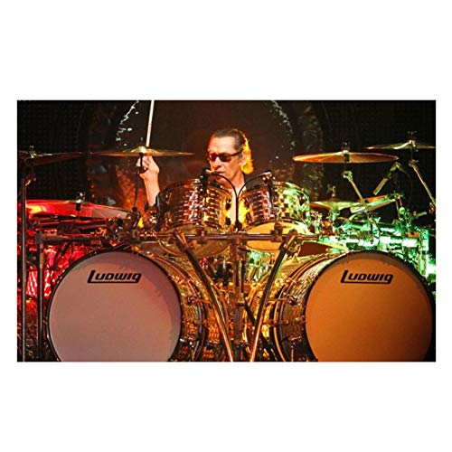 nr Musik Leinwand Poster Heavy Metal Hard Rock Bands Schlagzeug Wohnkultur Leinwand Poster drucken Wandmalereien-60x90cm No Frame