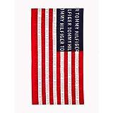 Tommy Hilfiger Flag 36x70 Beach Towel, Red