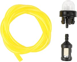 Harbot Fuel Line with Primer Bulb and Fuel Filter Kits for McCulloch 2010 2014 2016 3210 3214 3216 Chainsaw
