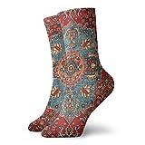 Antico Curdo Northwest Persia Carino Novità Atletico Calze Escursionismo Walking Calze Outdoor Ricreazione Calze Wicking Cushion Crew Socks Mid Polf Design per tutte le stagioni