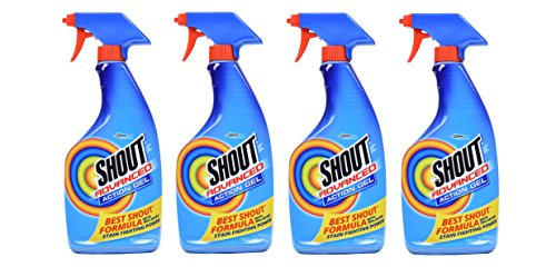 Shout Advanced 22 Ounces Stain Remover Gel Spray (4 Pack) Brand New and Fast Shipping