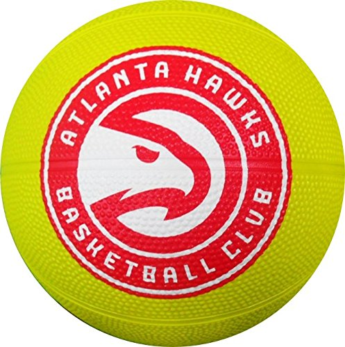 %25 OFF! NBA Atlanta Hawks Spaldingteam Logo, Lime, N