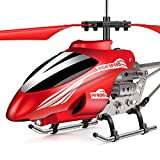 Ancesfun Mini RC Helicopter, Remote Control Helicopter with Gyro and LED Lights for Kids and Adults,...