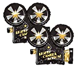 Set of 2 Lights Camera Action Movie Camera 32' Foil Party Balloons