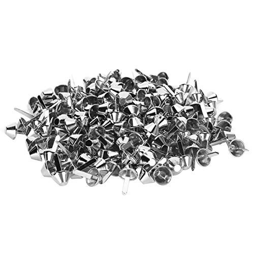Split Pins Lovely and Delicate Nailhead Studs Brad Fasteners Metal Feet Rivets Luggage Craft Accessories Bags Handbags for Leather
