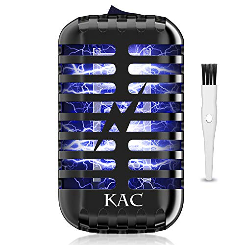 KAC Bug Zapper Mosquito Killer Fly Pests Insect Traps Killer Indoor Mosquito Blue Lamp Insect Zappers Mosquito Attractant Trap for Garden Backyard Patio Bedroom Kitchen Office