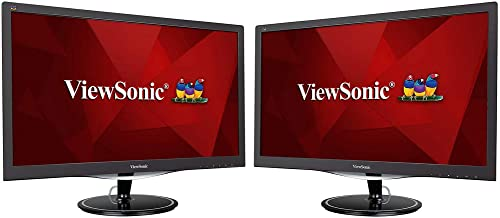 ViewSonic VX2457-MHD 1080p 2ms 24-inch Widescreen LED Backlit LCD Monitor (2-Pack)