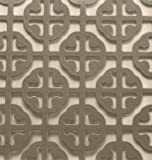MD Building Products 57005 1-Feet by 2-Feet Satin Nickel Mosaic Aluminum Sheet...