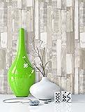 NEWROOM Papier peint bois beige,crème,gris papier beige,crème,gris maison de campagne,Vintage bois,vieilles planches