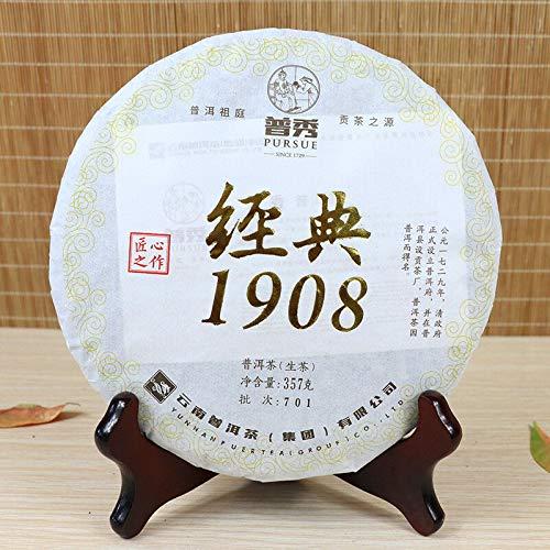 2017 Yunnan PURSUE Classic 1908 Premium Puer Tea Raw Green Pu Erh Tea 357g Sheng Pu-erh Cake