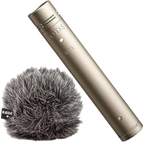 Micrófono condensador Rode NT5 S + WS 8 Deluxe de pelo