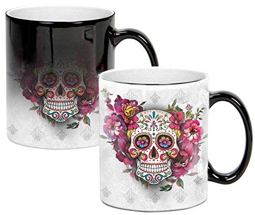 Sugar Skull Coffee Mugs