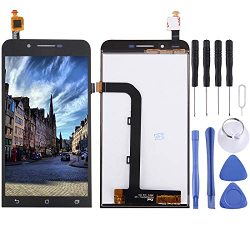 Wangl Mobile Phone LCD Screen LCD Screen and Digitizer Full Assembly for Asus Zenfone Go / ZC500TG(Black) LCD Screen