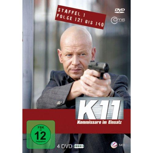 K11 Kommissare im Einsatz Staffel 1 Folge 121 bis 140 [4 DVDs]