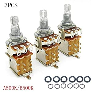 A500k Push Pull Potentiometer/Schalter Potentiometer E-Gitarren Lautstärke